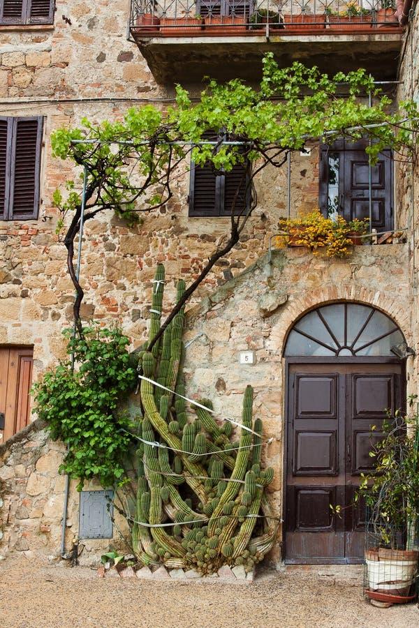 Schilderachtig hoekje van Toscanië stock foto's