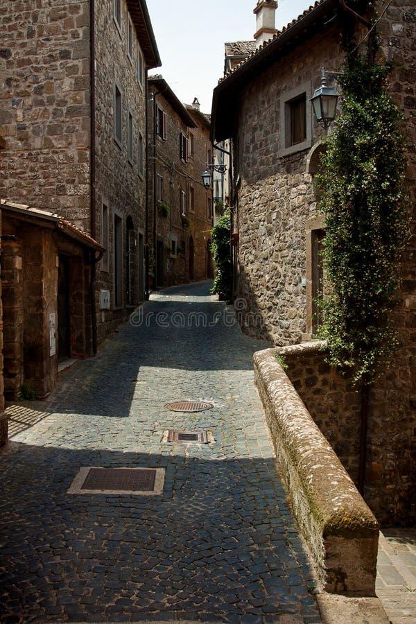 Schilderachtig hoekje van Toscanië royalty-vrije stock afbeeldingen