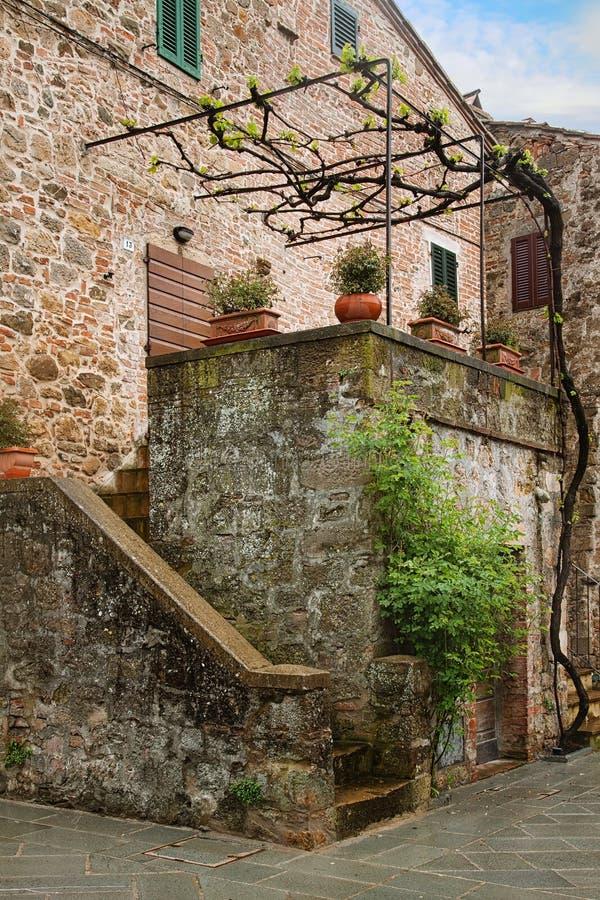 Schilderachtig hoekje van Toscanië royalty-vrije stock fotografie