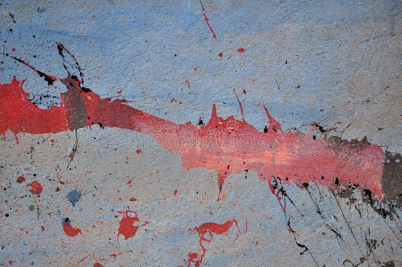 Schilderende Muur royalty-vrije illustratie