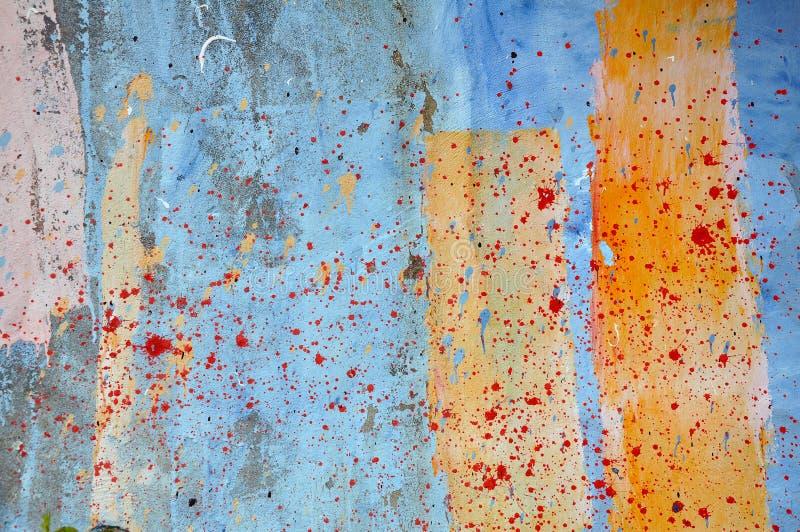 Schilderende Muur stock afbeelding