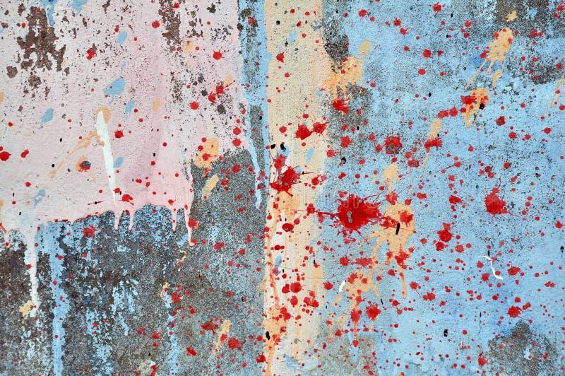 Schilderende Muur stock illustratie