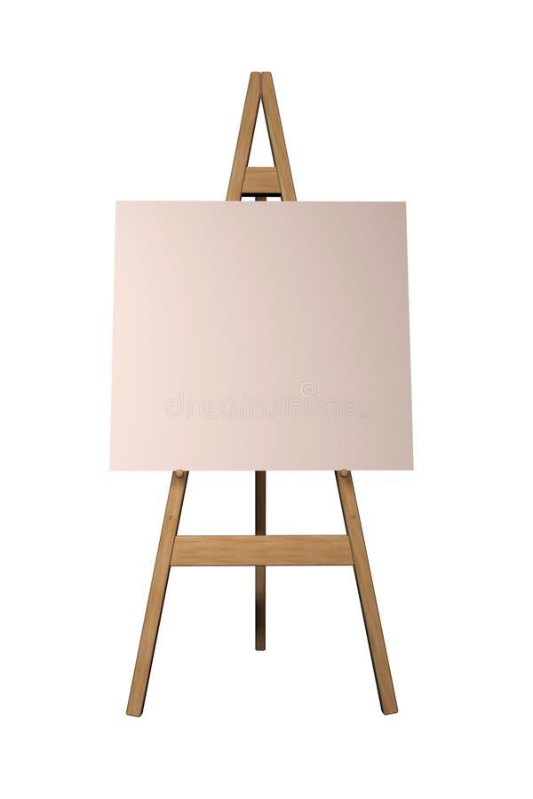 Schildersezel stock illustratie