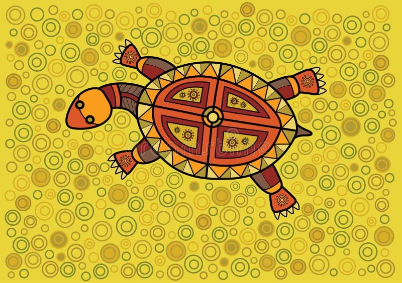 Schildpad vector illustratie