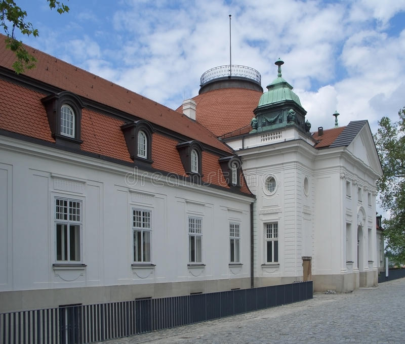 Schiller Nationalmuseum In Marbach Stock Images