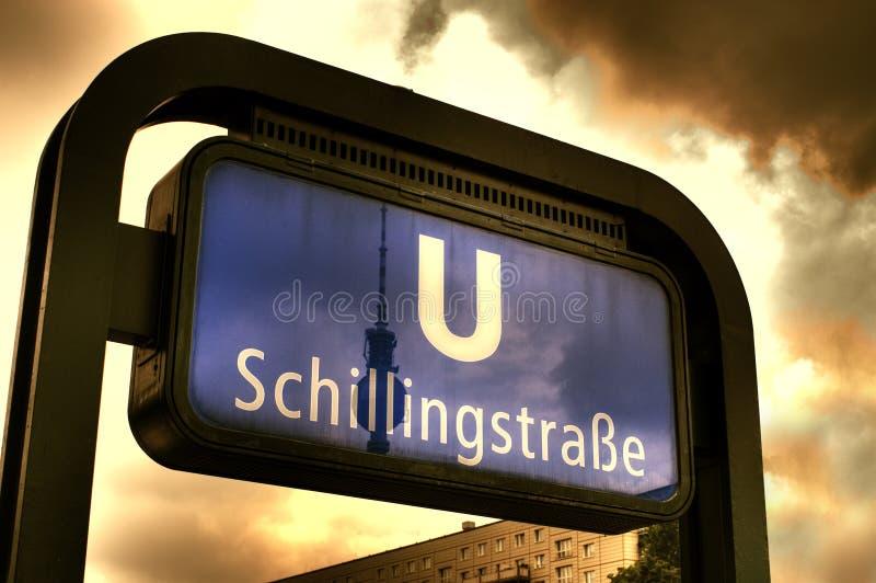 Schillingstrasse photographie stock