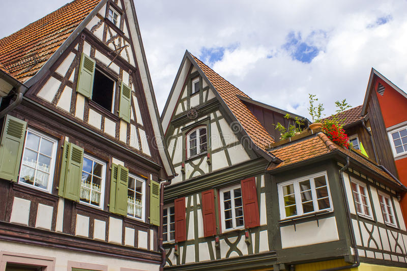 Schiltach in Black Forest royalty free stock images