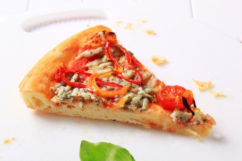Schimmelkaaspizza royalty-vrije stock afbeeldingen