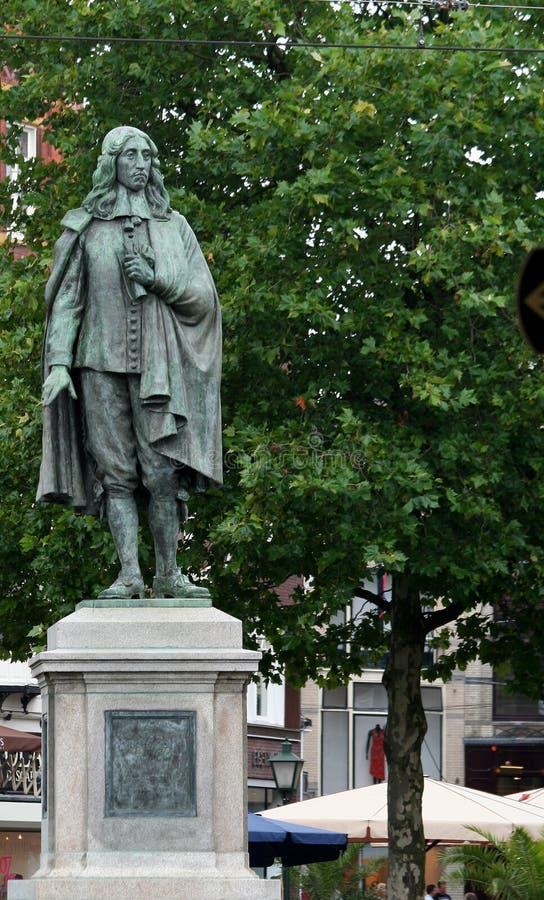 Schimmelpenninck雕象  免版税库存照片