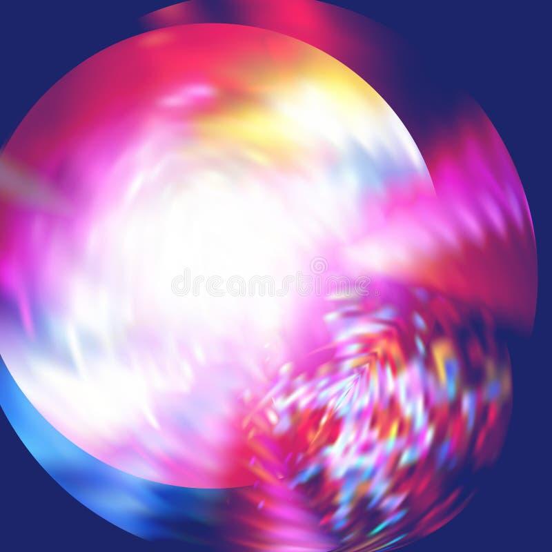 schimmer Hintergrund mit hellem Blitz Verschiedene Varianten der Farbe sind möglich lizenzfreie abbildung