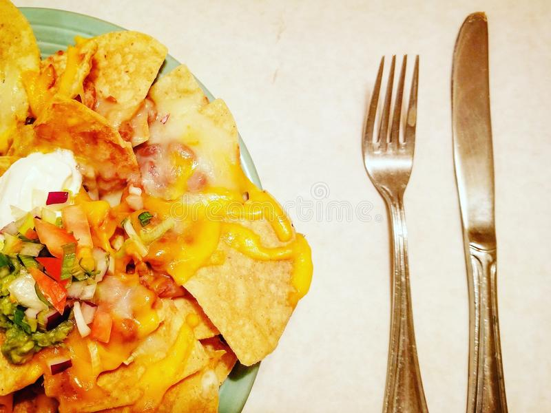 Schiocco di colore di alimento immagini stock