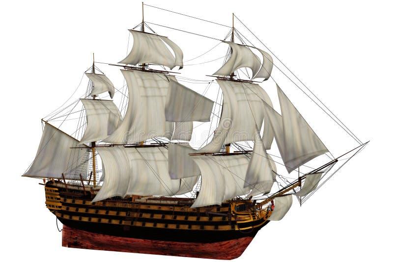 Schip vector illustratie