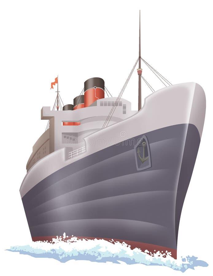 Schip royalty-vrije illustratie
