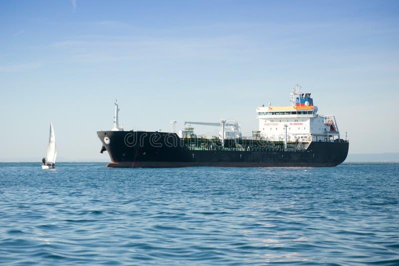 Schip in de haven royalty-vrije stock fotografie