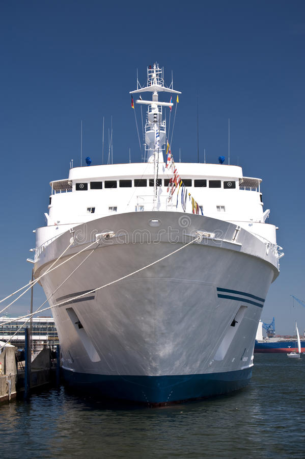 Schip in Haven van Kiel royalty-vrije stock afbeelding