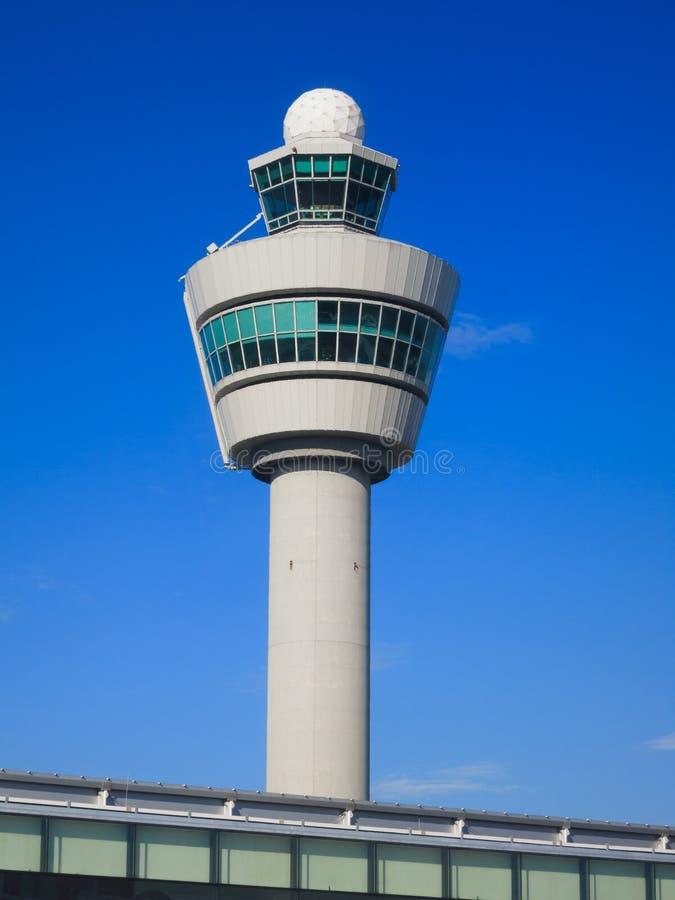 Schiphol-Kontrollturm stockfoto