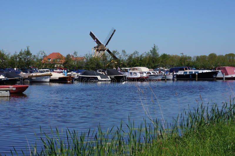 Schipluiden,荷兰 库存照片