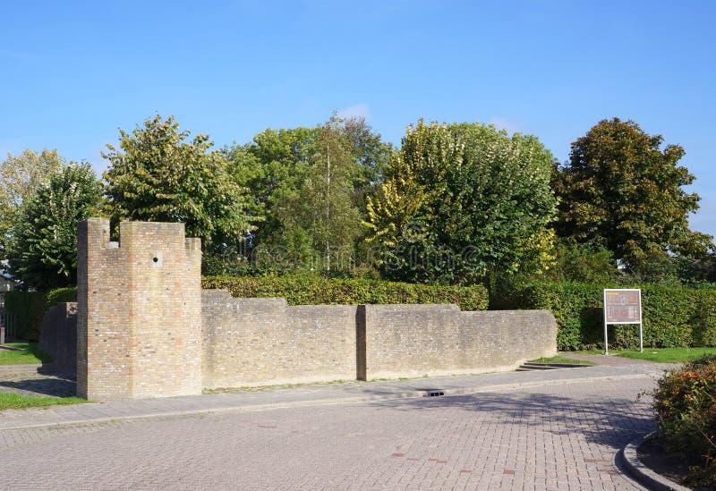 Schipluiden by, Nederländerna fotografering för bildbyråer