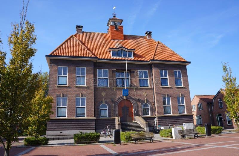 Schipluiden by, Nederländerna royaltyfria bilder