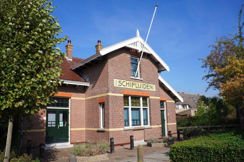 Schipluiden by, Nederländerna arkivbilder