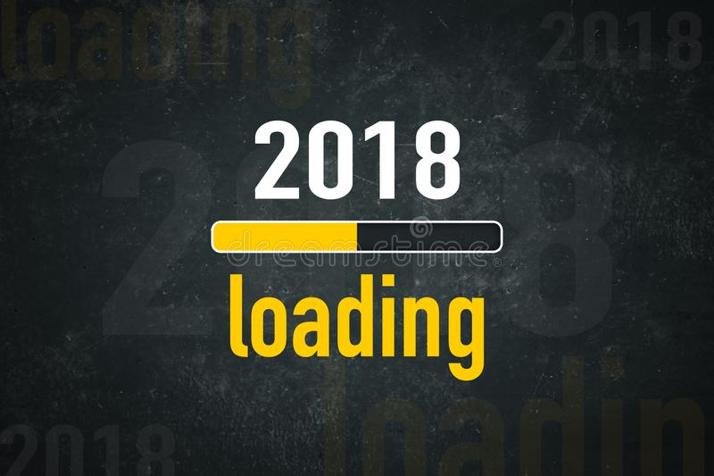 Schirmladen 2018 stock abbildung