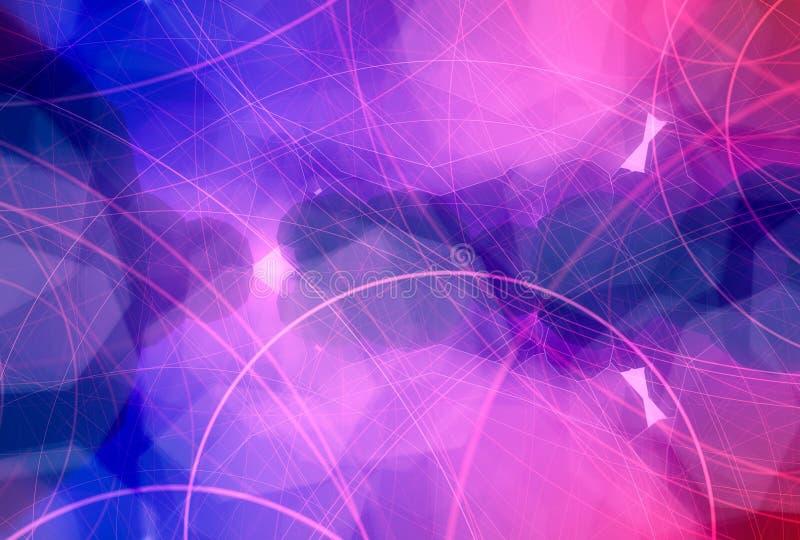 Schitter uitstekende lichtenachtergrond vector illustratie