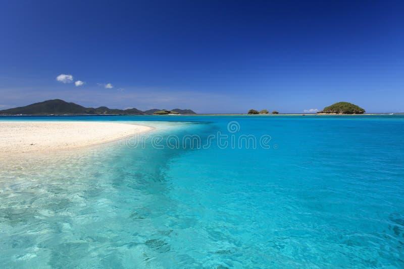 Schitterend Strand in Zomer stock fotografie