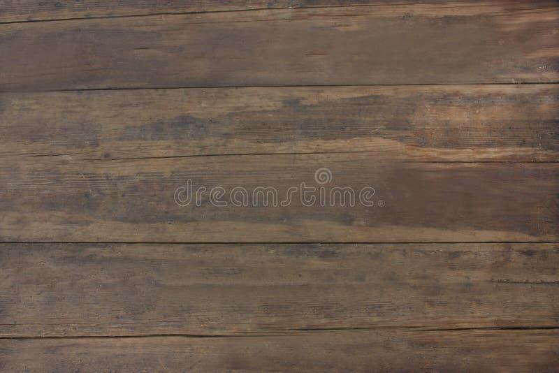 Schitterend textuur oud bruin hout Foto van een houten oppervlakte stock afbeelding