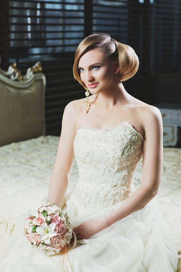 Schitterende Bruid royalty-vrije stock foto
