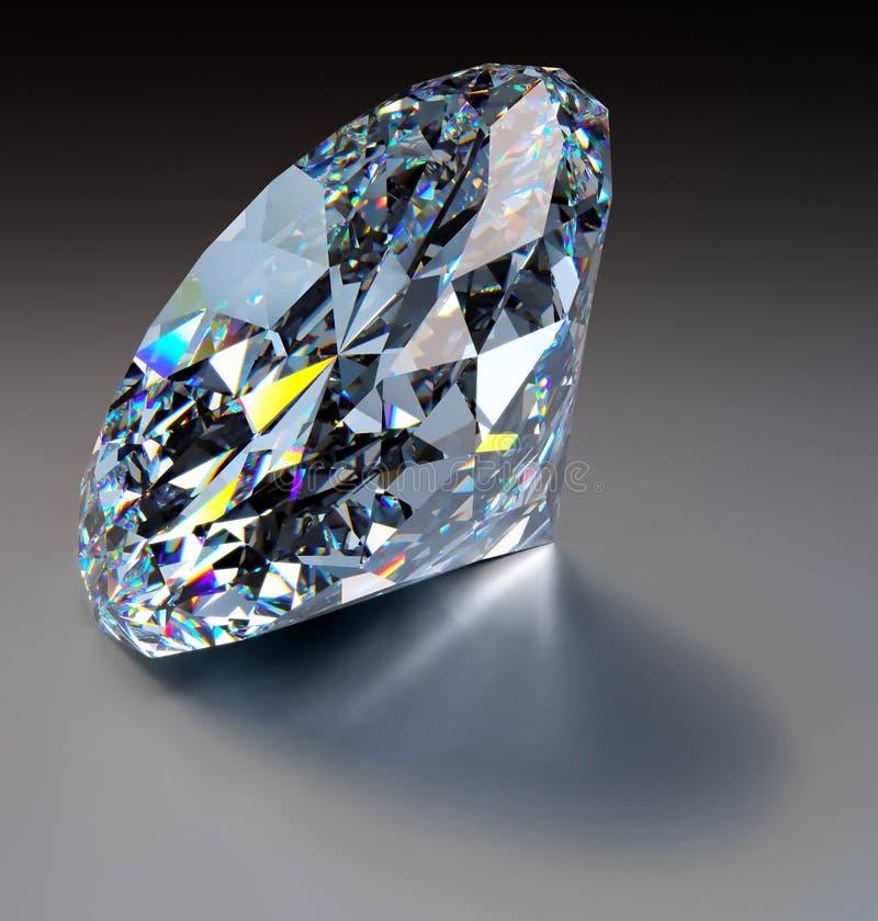 Schitterende Diamant stock illustratie