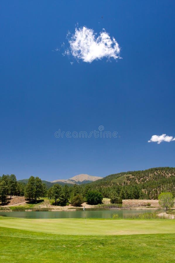 Schitterende Golfcursus In Arizona Stock Foto's