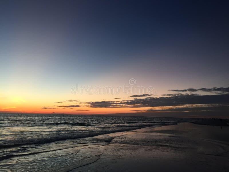 Schitterende Zonsondergang stock fotografie
