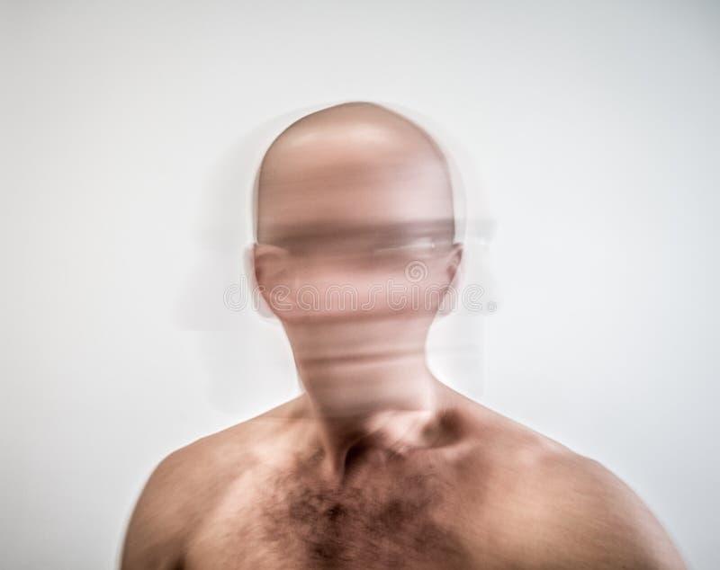 Schizofreni och svindel royaltyfri fotografi