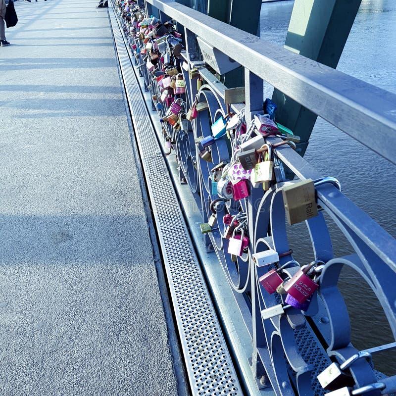 schlösser del puente foto de archivo