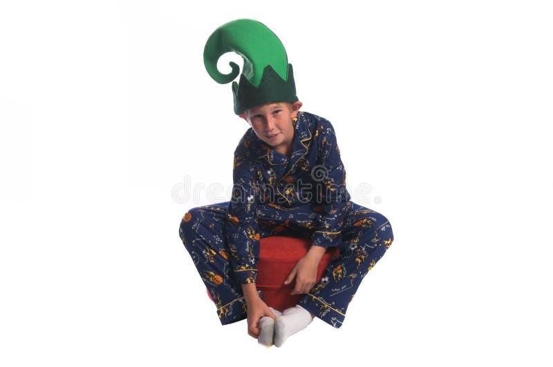 Schläfriger Elf stockbild