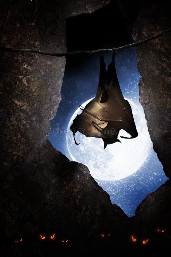 Schläger in der Höhle lizenzfreie stockfotografie