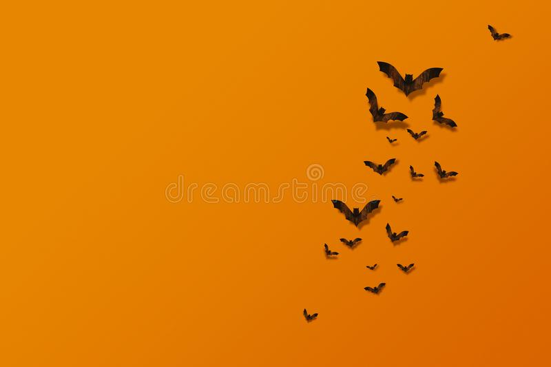 Schlägerfliegen gemacht vom Holz auf orange Backsteinmauer stockfotos