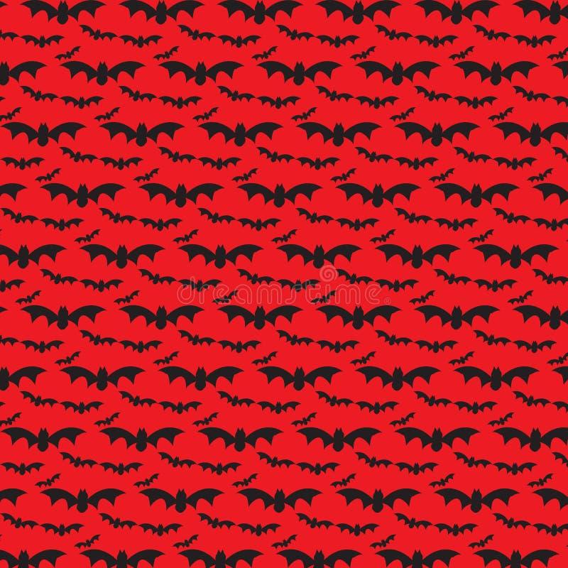 Schlägerfliegen, Halloween-Muster lizenzfreie stockfotos