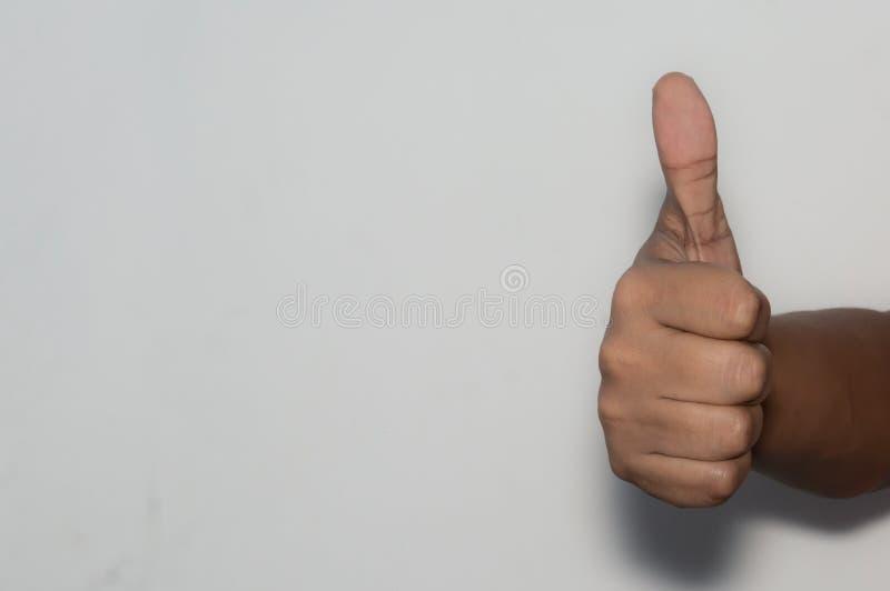 Schlägt Unternehmensangestelltvertretung der kaukasischen Geschäftsmann-Frau oben lizenzfreies stockfoto