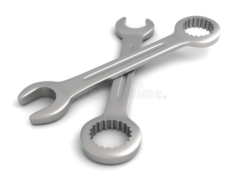 Schlüssel stock abbildung