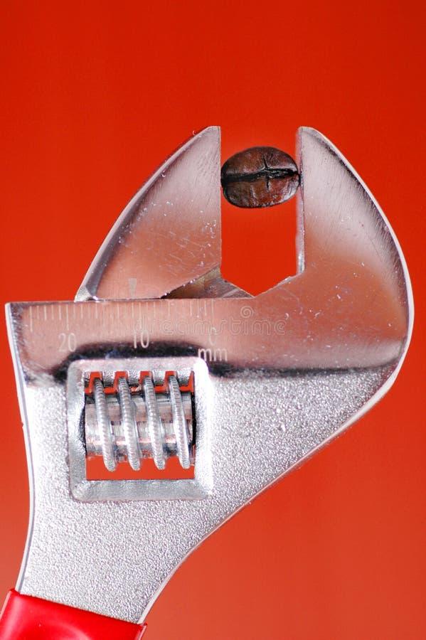 Schlüssel-Kaffeebohne lizenzfreies stockfoto