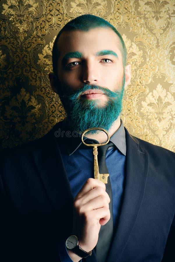 Schlüssel zum Glück lizenzfreie stockfotografie