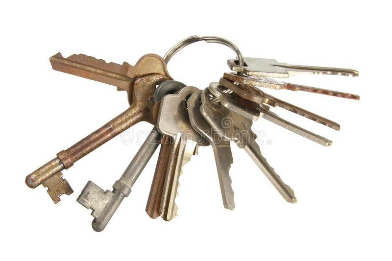 Schlüsselbund stockfotos