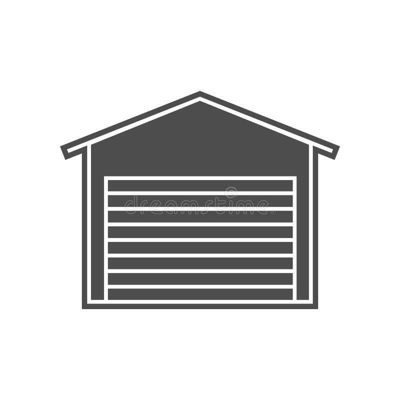 Schl?ssel in Form einer Hausikone Element von minimalistic f?r bewegliches Konzept und Netz Appsikone Glyph, flache Ikone f?r Web vektor abbildung