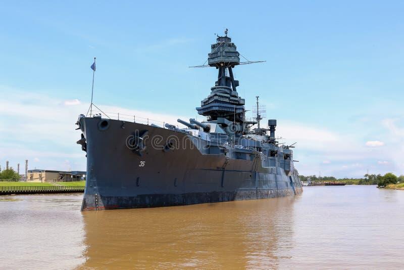 Schlachtschiff lizenzfreie stockfotos