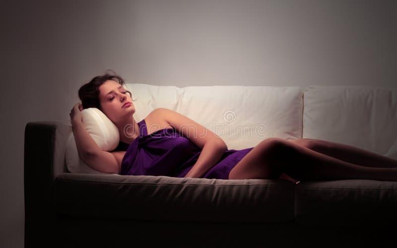 Schlaf stockbild