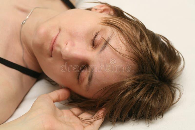 Schlaf des frühen Morgens lizenzfreie stockfotografie