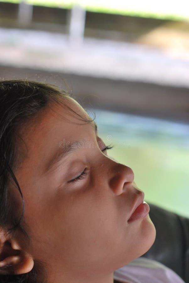 Schlafendes Kind lizenzfreie stockfotos