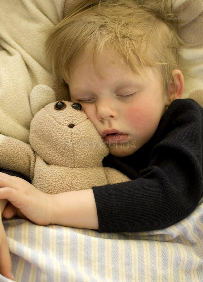 Schlafendes Kind lizenzfreies stockfoto