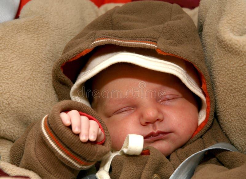 Schlafendes Schätzchen stockfotos